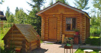 Отдых в деревянной бане