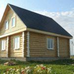 Сруб дома 9х9: цена от 567 000 руб